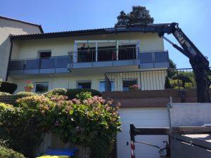 Fenster Renovierung Balkon